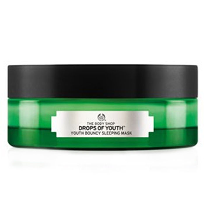 Buy The Body Shop Drops Of Youth Bouncy Sleeping Mask (90 ml)-Purplle
