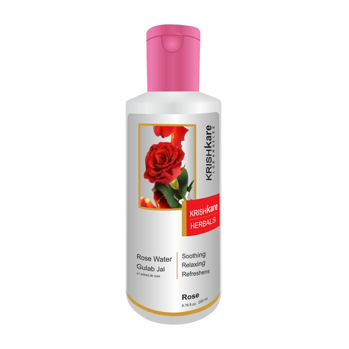 Buy Krishkare Rose Water (200 ml)-Purplle