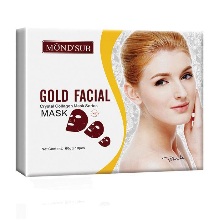 Buy Monda€™Sub Gold Face Mask Sheet-Purplle