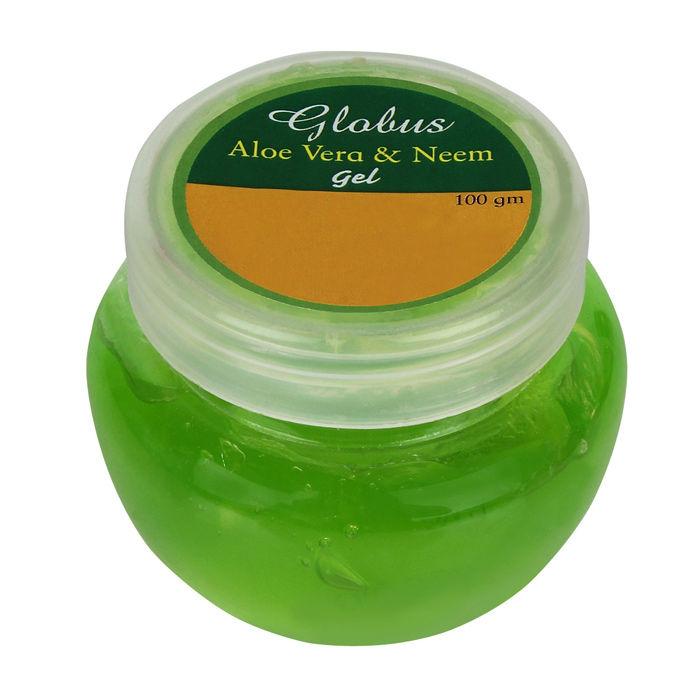 Buy Globus Aloe Vera & Neem Face Gel (100 g)-Purplle