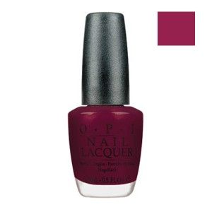 Buy O.P.I. Nail Lacquer Bogota Blackberry (15 ml)-Purplle