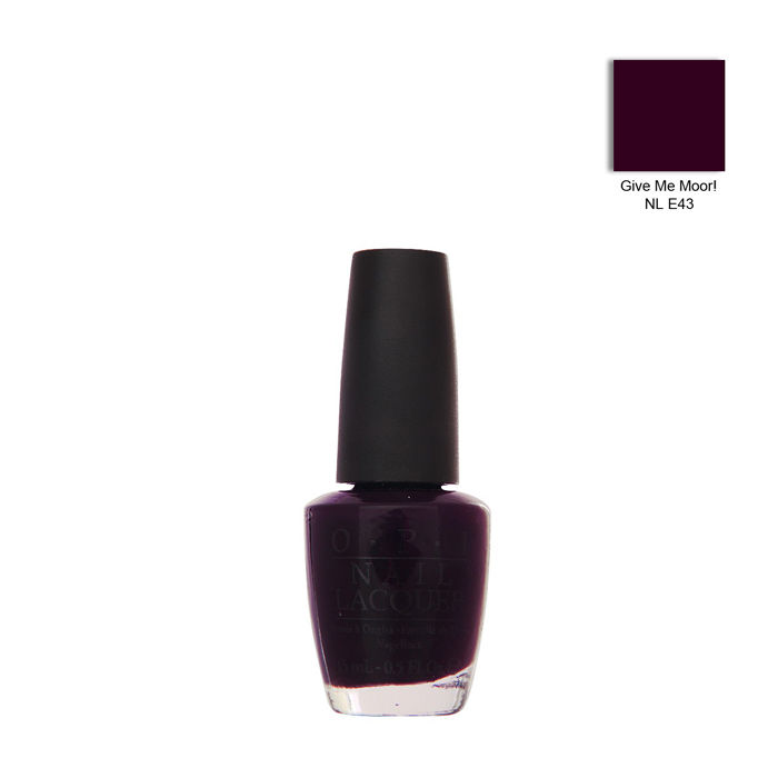 Buy O.P.I. Nail Lacquer Give Me Moor (15 ml)-Purplle