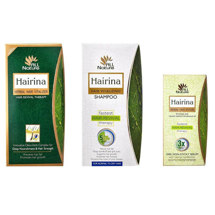 Hairina Hair Revival Therapy Combo (290 ml) Pack of 3