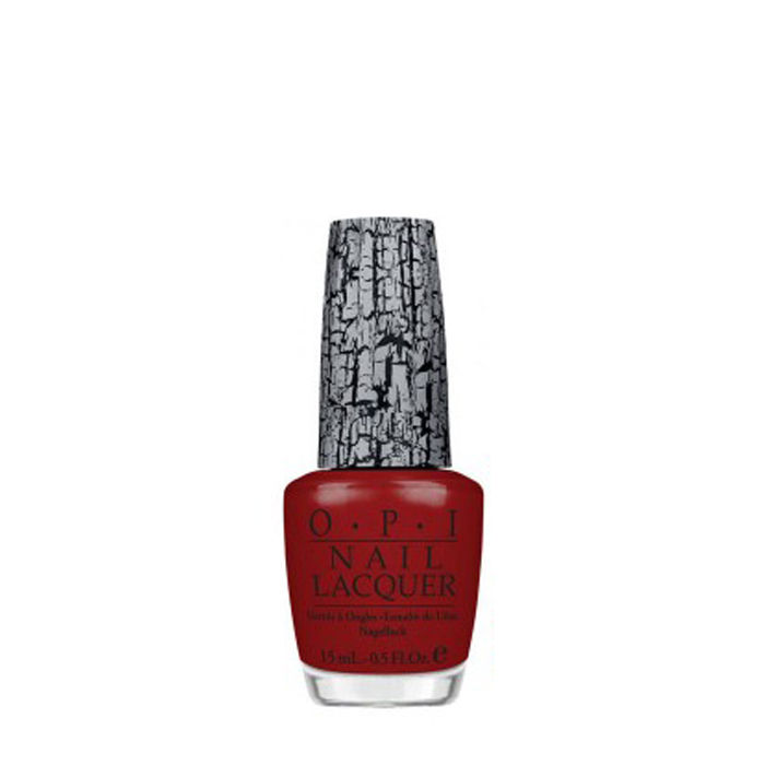 Buy O.P.I. Nail Lacquer Shatter Red (15 ml)-Purplle