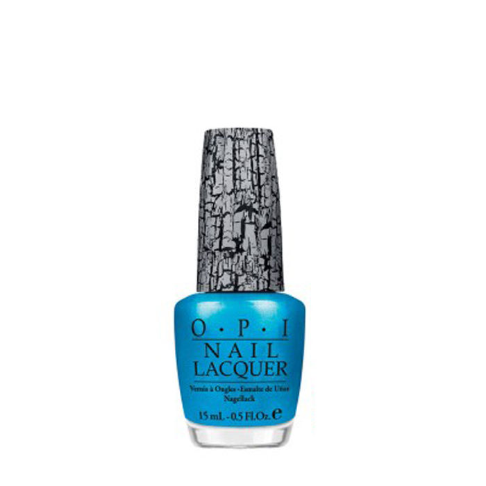 Buy O.P.I. Nail Lacquer Shatter Turquoise (15 ml)-Purplle