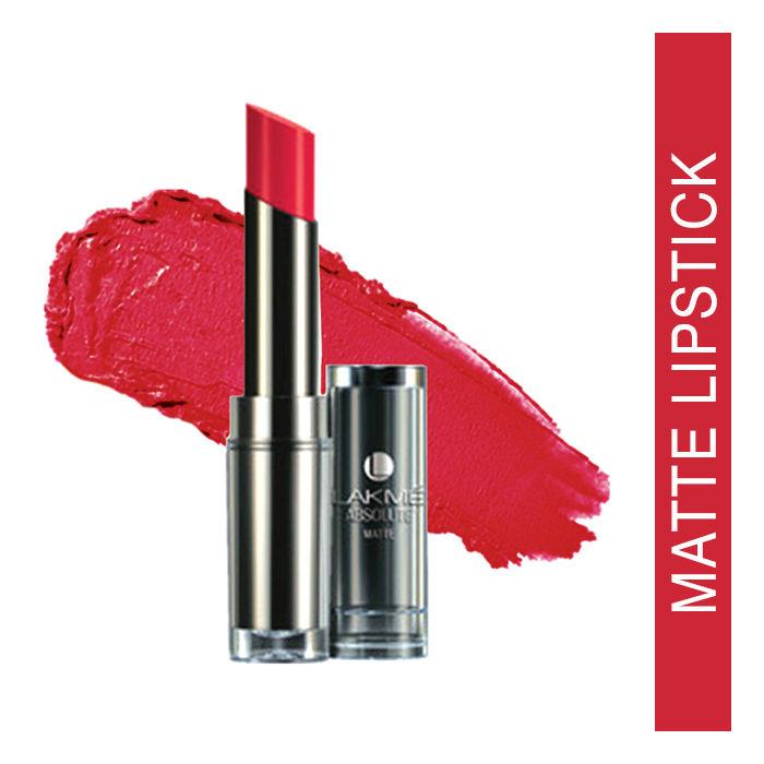 Buy Lakme Absolute Sculpt Hi-Definition Matte Lipstick Le Fuscia (3.7 g)-Purplle