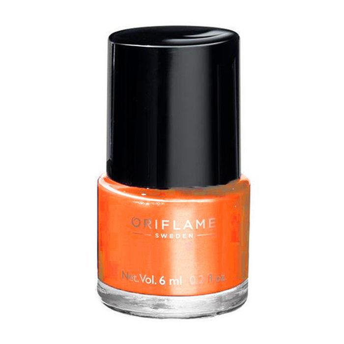 Oriflame Pure Colour Nail Polish Mini Coral Orange (6 ml)
