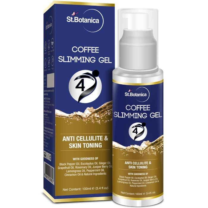 Buy St.Botanica 4D Coffee Slimming Cream - AntiCellulite & Skin Toning (100 ml) (With Guarana Oil)-Purplle