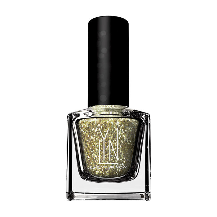 Buy LYN Nail Paint Star Studed Gold (12 ml)-Purplle