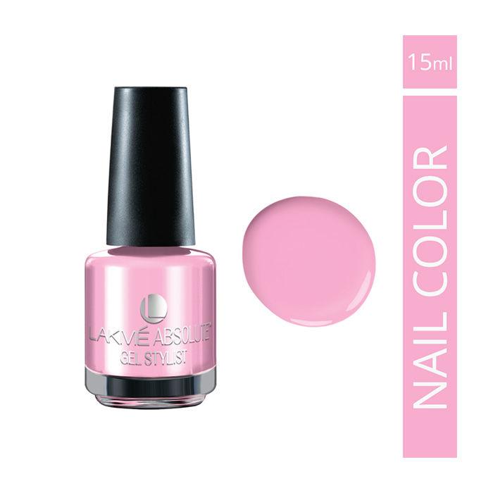 Gel Nail Polish Lakme: Lakme Absolute Gel Stylist Nail Color Pink Peony (15 Ml