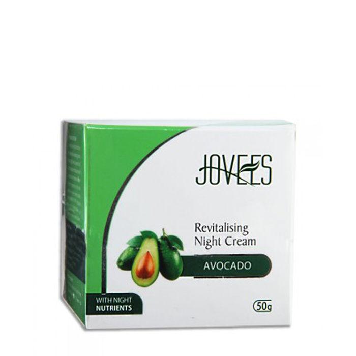 Buy Jovees Revitalising Night Cream Avocado 50 g-Purplle