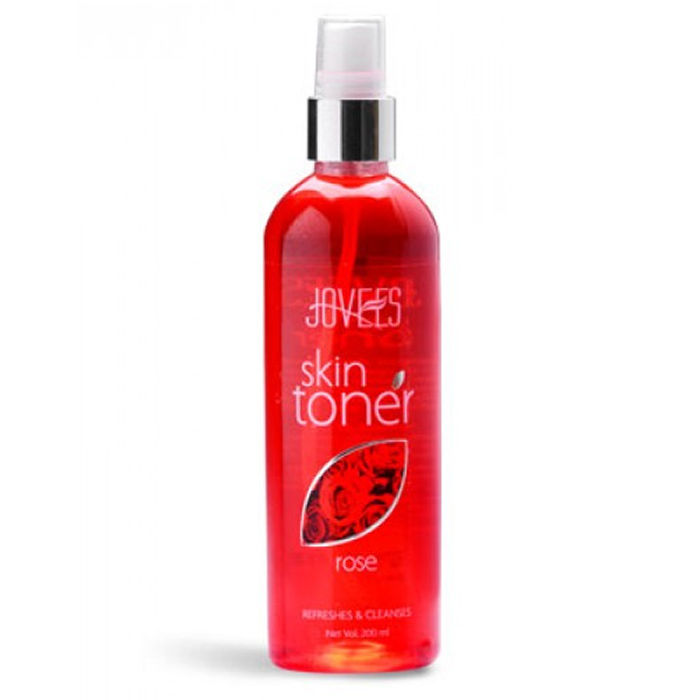 Buy Jovees Skin Toner Rose Refreshes and Cleanses 200 ml-Purplle