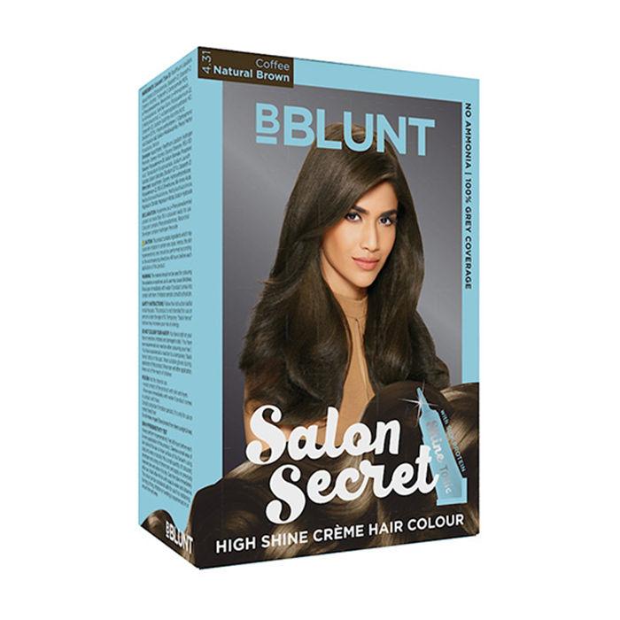 Bblunt salon secret high shine creme hair colour coffee for Bblunt salon secret