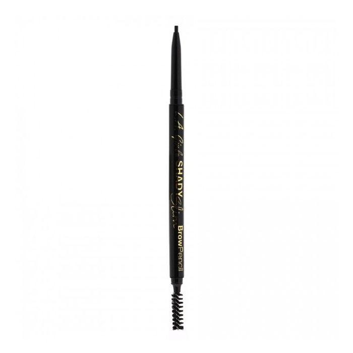 Buy L.A. Girl shady Slim Brow Pencil-Black (0.08 g)-Purplle