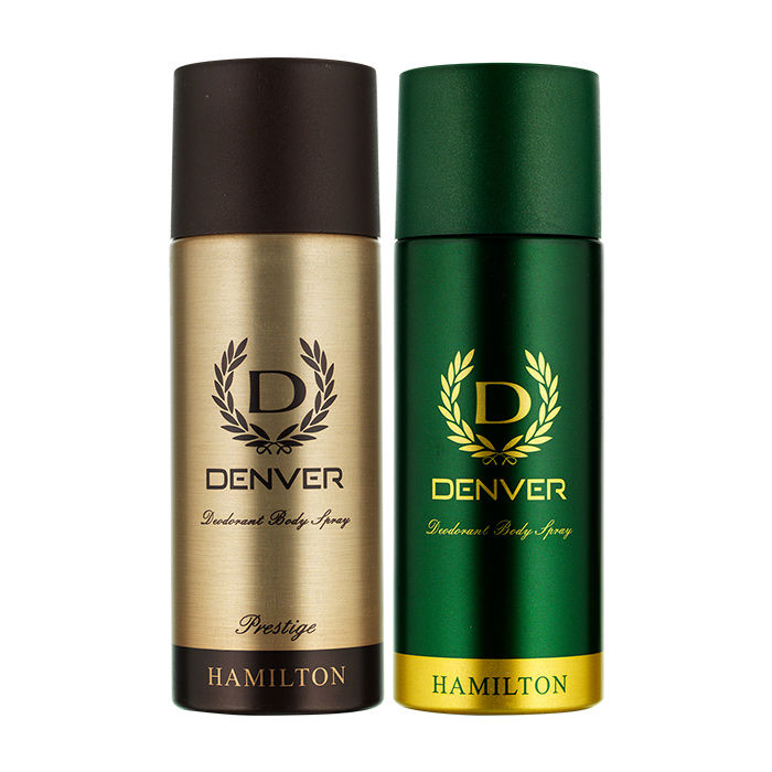 Denver Hamilton And Prestige Deo Combo (Pack Of 2) (330 Ml