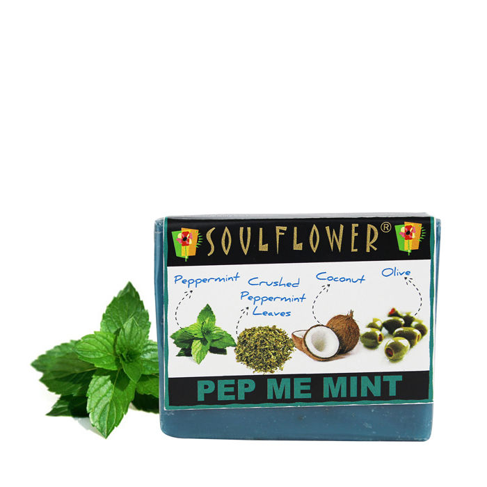 Buy Soulflower Soap Pep Me Mint (150 g)-Purplle