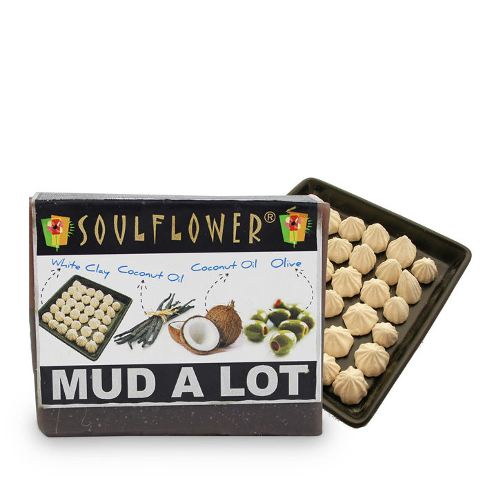 Buy Soulflower Soap Mud A Lot (150 g)-Purplle