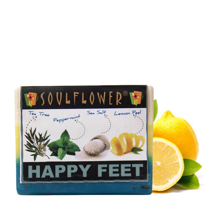 Buy Soulflower Soap Happy Feet (150 g)-Purplle