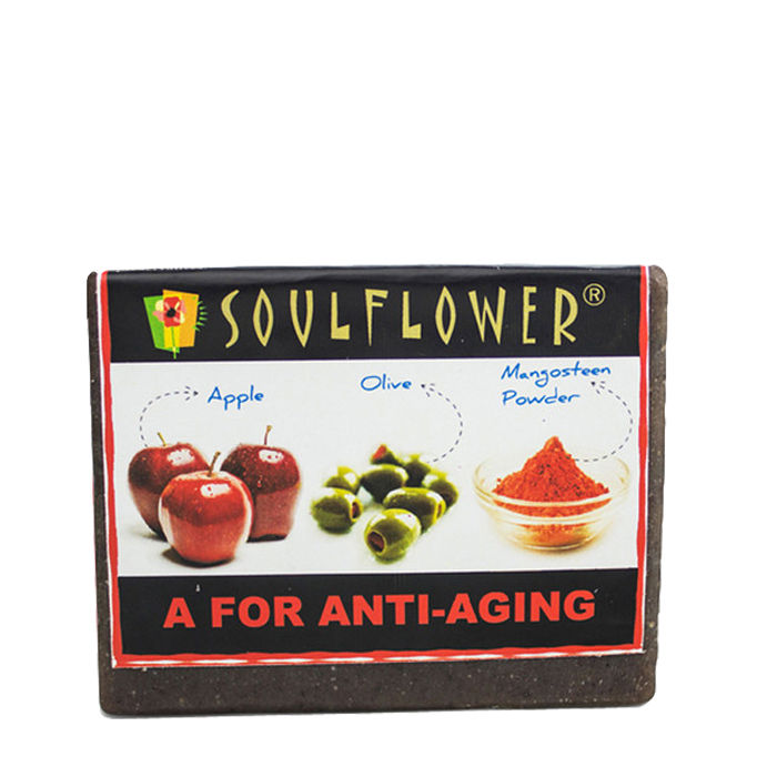 Buy Soulflower Soap A For Anti - Aging (150 g)-Purplle