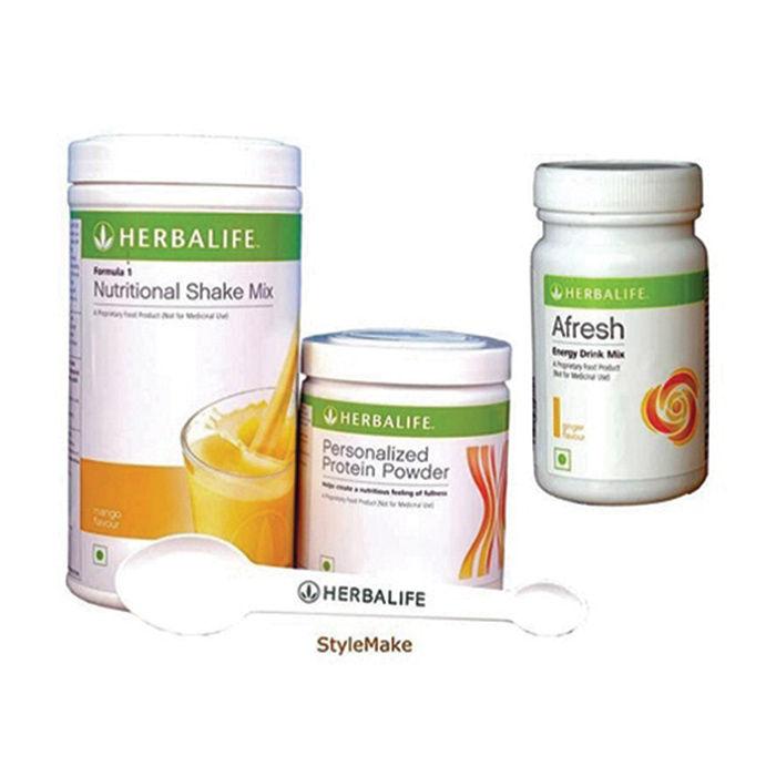 Herbalife Weight Loss Combo Mango Protein Powder Afresh Ginger