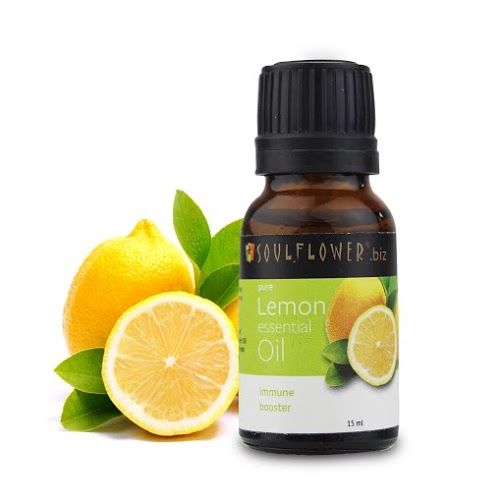 Buy Soulflower Essential Oil Lemon (15 ml)-Purplle