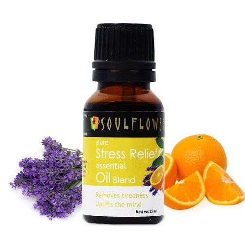 Buy Soulflower Essential Oil Stress Relief (15 ml)-Purplle