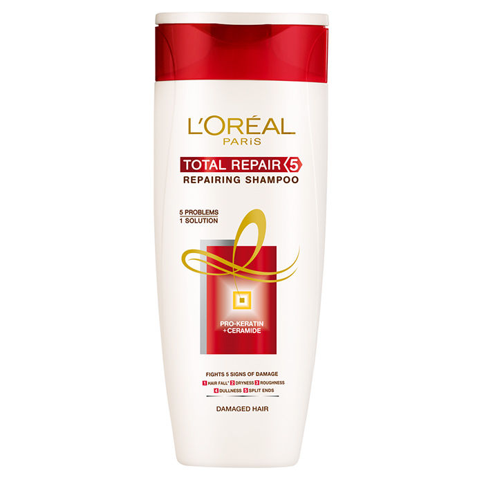 sehgmentation benefit for loreal total repair 5 restoring shampoo Try the ceramide-rich l'oréal paris total repair 5 restoring the skin on your scalp will benefit from like head & shoulders damage rescue shampoo ($5.