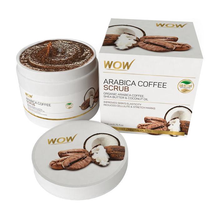 Buy WOW Arabica Coffee Scrub -Organic Arabica Coffee-Purplle