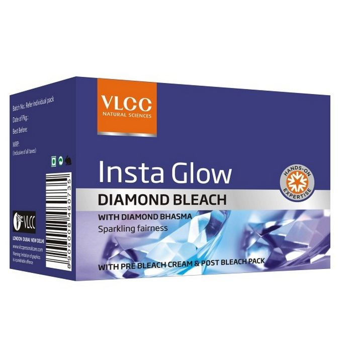 Buy VLCC Insta Glow Diamond Bleach (30 g)-Purplle