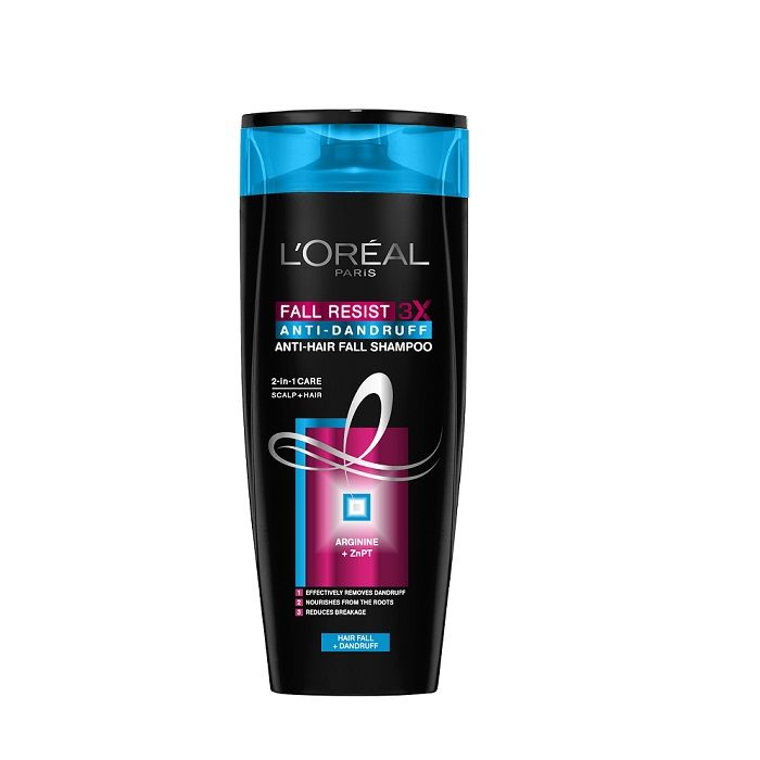 buy l 39 oreal paris fall repair anti dandruff shampoo 75 ml online l 39 oreal paris shampoo best. Black Bedroom Furniture Sets. Home Design Ideas