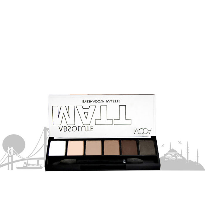 Buy Moda Cosmetics Absolute Matte Eyeshadow Palette-Purplle