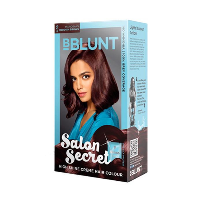 Bblunt salon secret high shine creme hair colour mahogany for Bblunt salon secret