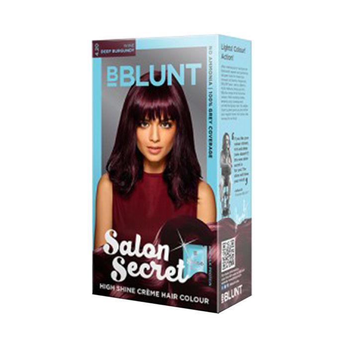 Bblunt salon secret high shine creme hair colour wine for Bblunt salon secret hair colour review