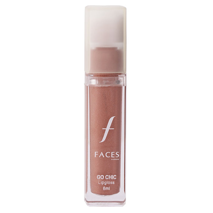 Buy Faces Canada Go Chic Lip Gloss Honey Beige 1-Purplle
