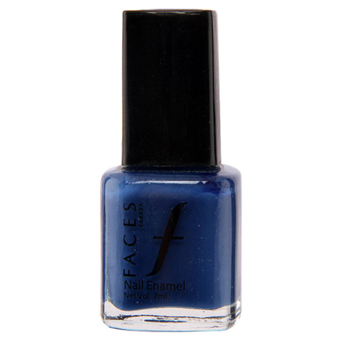 Buy Faces Canada Splash Nail Enamel Ultramarine Blue 04 (8 ml)-Purplle