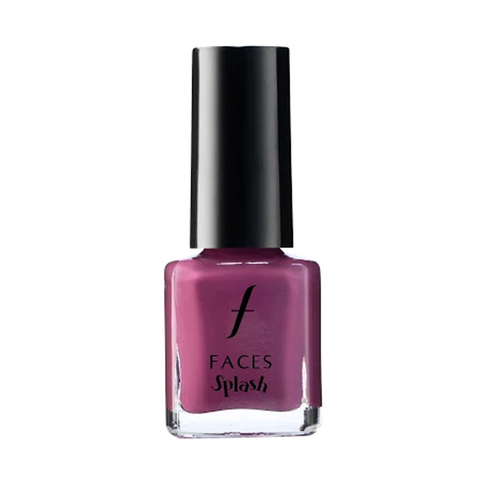 Buy Faces Canada Splash Nail Enamel - Purple Rain 19 (8 ml)-Purplle