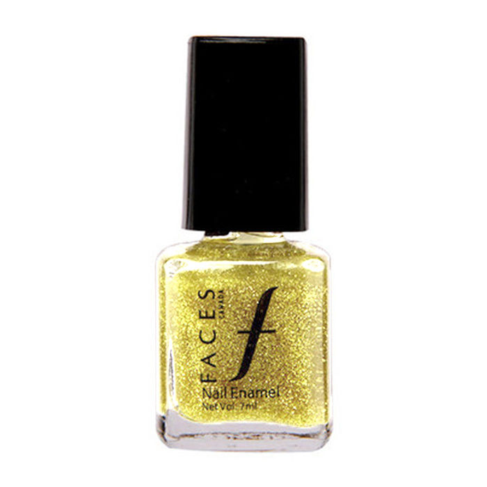 Buy Faces Canada Splash Nail Enamel - All That Glitters 22 (7 ml)-Purplle