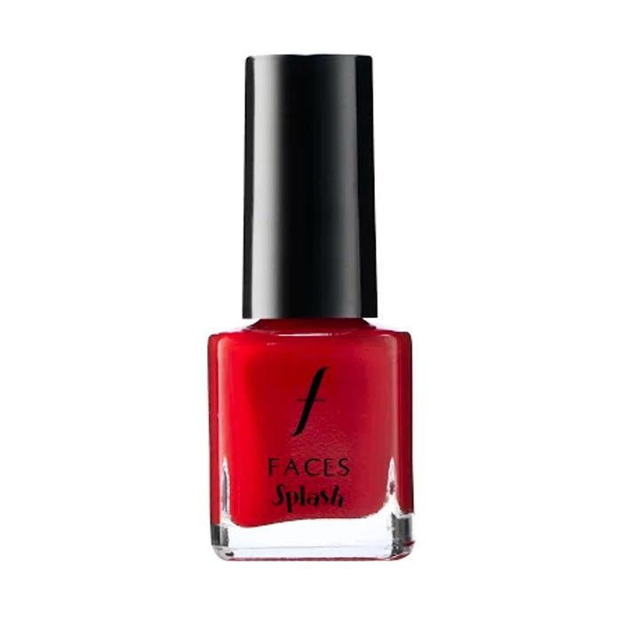 Buy Faces Canada Splash Nail Enamel - Royal Ruby 24 (8 ml)-Purplle