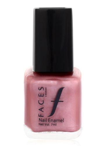 Buy Faces Canada Small Nail Enamel Silken Pink 203 (8 ml)-Purplle
