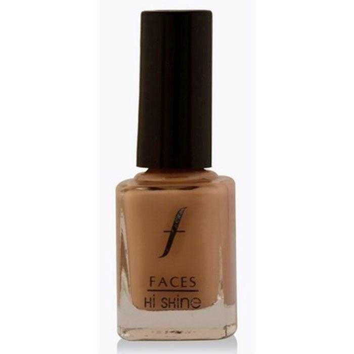 Buy Faces Canada Hi Shine Nail Enamel Rosy Brown 02 (9 ml)-Purplle