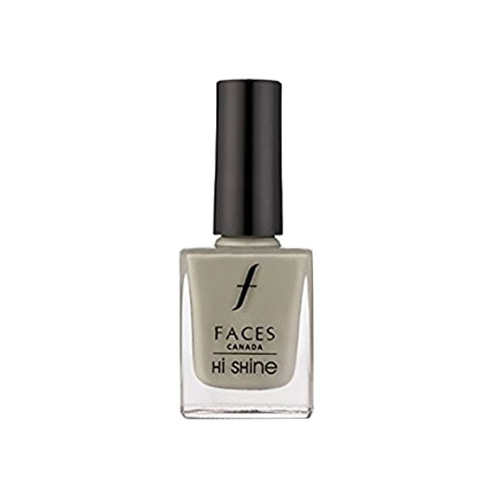 Buy Faces Canada Hi Shine Nail Enamel Pearl White 03 (9 ml)-Purplle