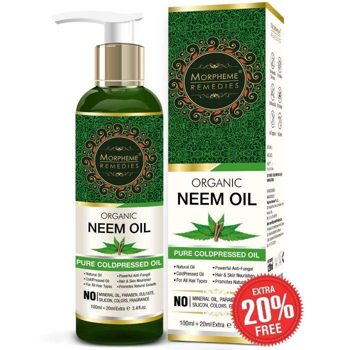 Morpheme Pure Organic Neem Oil (120 ml)