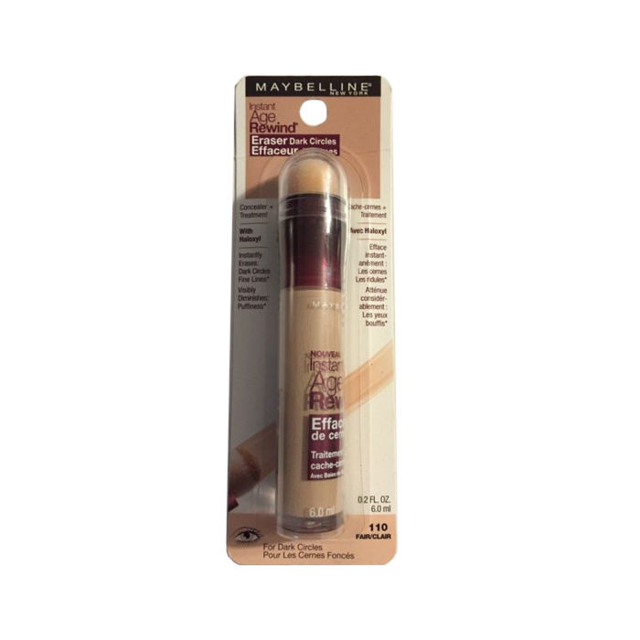 Buy Maybelline New York Instant Age Rewind Dark Circle Concealer, Fair/clear110-Purplle