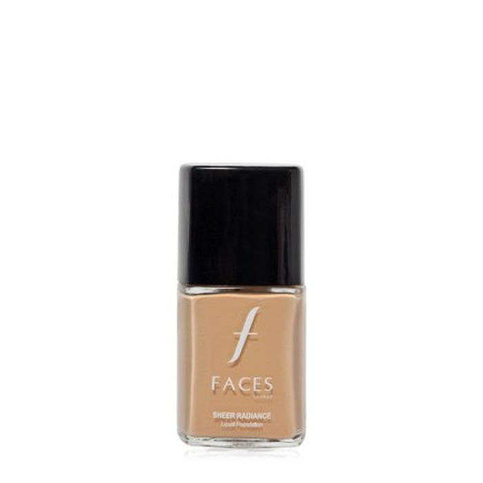 Buy Faces Canada Sheer Radiance Foundation Sheer Natural 02 (30 ml)-Purplle