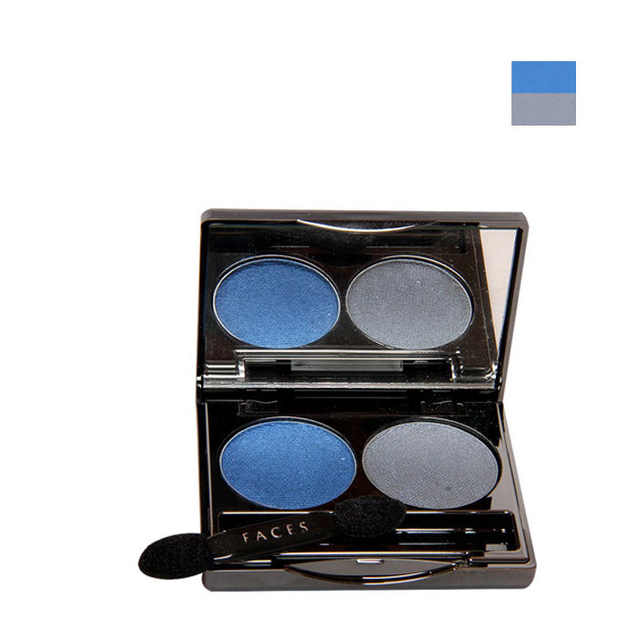 Buy Faces Canada Glam On Color Perfect Eye Shadow Smokey 04 (6 g)-Purplle