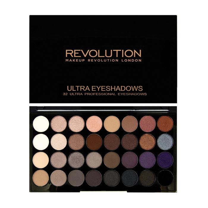Buy Makeup Revolution 32 Eyeshadow Palettes Affirmation (20 g)-Purplle