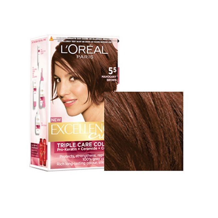 Loreal Mahogany Brown Hair Color Hairstyle Inspirations 2018