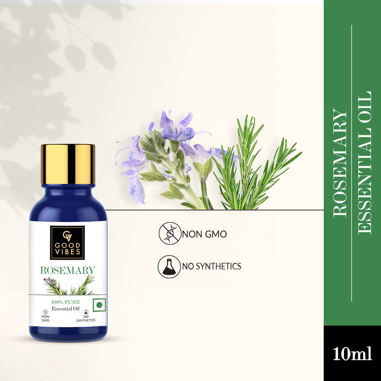 Buy Good Vibes Pure Essential Oil - Rosemary (10 ml)-Purplle