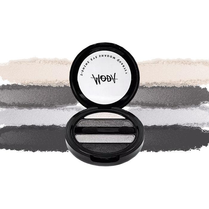 Buy Moda Cosmetics I Shine Eyeshadow Quartet Smokey Squad 01-Purplle