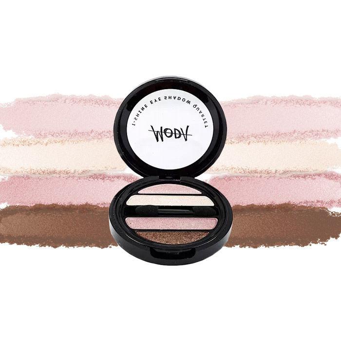 Buy Moda Cosmetics I Shine Eyeshadow Quartet Earth 04-Purplle